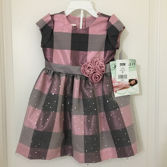 83ee76bc6420 Bonnie Jean Dresses | Baby Girls Formal Pink Sparkly Dress | Poshmark